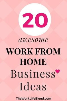 Check out this list of 20 work from home business ideas that are perfect for mum.,Check out this list of 20 work from home business ideas that are perfect for mums. It can be really hard to come up with work at home business ideas b. Home Party Business, Work From Home Business, Work From Home Moms, Starting A Business, Make Money From Home, Business Tips, Make Money Online, Online Business, How To Make Money