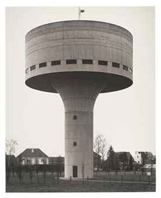 DECRATIED  WATER TOWERS | Water tower; Waterloo, Belgium, 1993