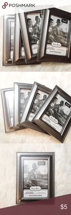 NWT Special Moments 4x6 Silver Photo Picture Frame Brand new with Tags, great for FreePrints photo app 4x6 photos. Special Moments Other