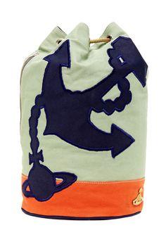 Vivienne Westwood   Canvas Backpack   HauteLook