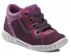 Ecco 750231 Mimic Aubergine/Fandango/Fuchsi Rigtig flot sko med stødabsorberende sål.