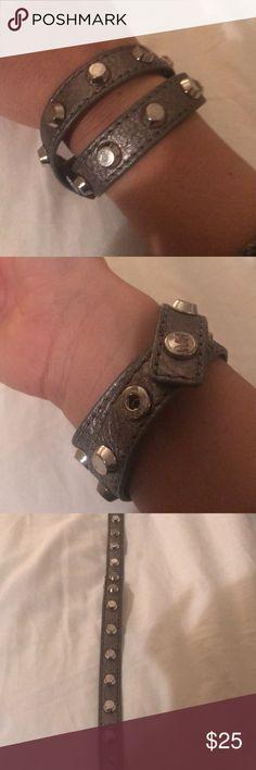 Michael Kors Bracelet Silver / Slightly Worn / Michael Kors wrap Bracelet Michael Kors Jewelry Bracelets