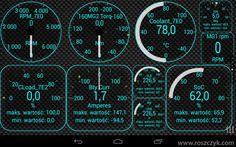 ELM 327, OBD II, Toyota Prius, Aplikacja Torque