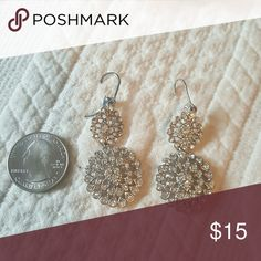 Cocktail  earnings Bling bling baby adds just the right amount of sparkle  to  our evening out!!! Banana Republic Jewelry Earrings