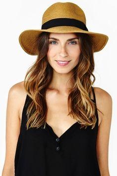 Roma Panama Hat - Tan