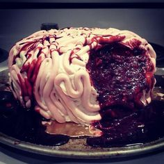 Brain cake for all of you zombies out there.