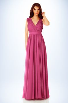 Get all eyes on you wearing our fuchsia Kora dress. Featuring a veil fabric with a flattering V bar neckline, backless design and floor sweeping length. Maxi Dresses, Formal Dresses, Korea, Backless, Neckline, Floor, Bar, Eyes, Fabric