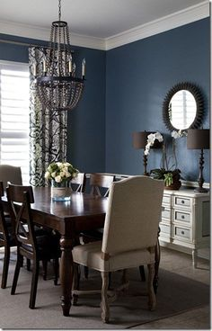 2016 Design Forecast Blue Dining RoomsLiving RoomsNavy