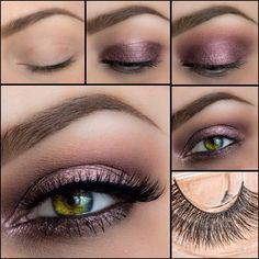 Soft smokey bridal look featuring Naked lashes Voila and dipbrow in Chocolate Esqido Lashes, Bridal Looks, Eye Makeup, Eyeshadow, Make Up, Beauty, Naked, Palette, Chocolate