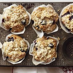 Great muffin recipes  - These baked treats are all relatively low in fat and calories, and most are packed with fresh fruit, fiber, and good-for-you fats.