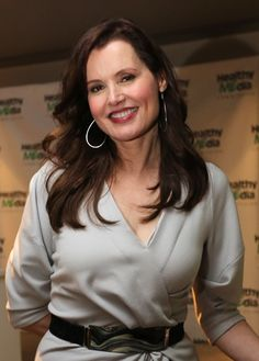 Geena Davis at the Healthy MEdia Commission.