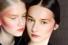 Tendencia Primavera 2013 maquillaje make up  sombras color
