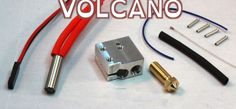 E3D's New Volcano Hotend Can Increase Your 3D Printer's Speed by up to 250% http://3dprint.com/33543/e3d-new-volcano-hotend/