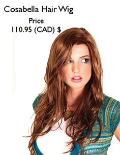 Cosabella is a gorgeous long and natural looking show girl styled #Syntheticwig. Price: 110.95 (CAD) $ http://www.hairandbeautycanada.ca/cosabella-wig-hair-wig/ #redhairwigs   #syntheticwigscanada