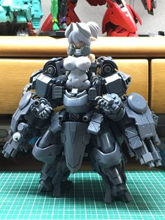 Best Ideas For Toys Design Sketch Art 3d Figures, Anime Figures, Action Figures, Game Character Design, Character Design Inspiration, Robot Animal, Diy Toy Storage, Frame Arms Girl, Robot Girl
