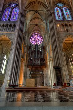 Reims - Grandes orgues de la Cathédrale | Explore | Flickr - Photo Sharing!