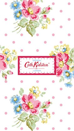 Cath Kidston iPhone Wallpaper キャス・キッドソン iPhone壁紙