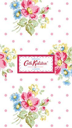 Cath Kidston iPhone Wallpaper キャス・キッドソン iPhone壁紙
