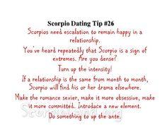 how to romance a scorpio man