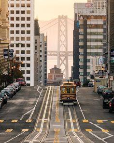 Cable Car lovin #sanfrancisco #sf #bayarea #alwayssf #goldengatebridge #goldengate #alcatraz #california