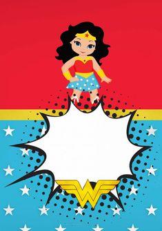 Wonder Woman Birthday, Wonder Woman Party, Sweet 16 Birthday Cake, Hero Girl, Printable Planner Stickers, Art Party, Alice, Superhero Party, Cute Wallpapers