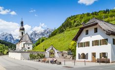 Bavarian Alps jigsaw puzzle in Great Sightings puzzles on TheJigsawPuzzles.com