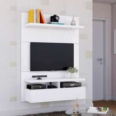 Cotswold Wimbourne Small TV UnitCotswold Wimbourne Small TV UnitPainel para TV 40 Polegadas Zeus Branco Gloss 120 cmPainel para TV 40 Polegadas Zeus Branco Gloss 120 cmReduced small furnitureChest of drawers Lano color: white Bedroom Tv Unit Design, Lcd Unit Design, Tv Unit Bedroom, Lcd Panel Design, Bedroom Tv Wall, Living Room Tv Unit Designs, Tv Wall Design, Uni Bedroom, Bedroom Drapes
