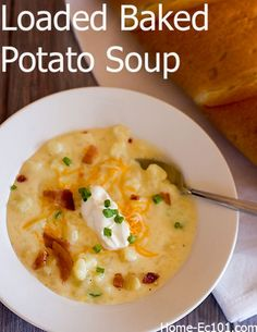 Baked Potato Soup Re