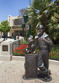 Disney Fact: Disney California Adventure's new Buena Vista Street is inspired by the story of Walt Disney and his arrival in Los Angeles.