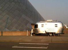 Airstream Chihuly Airstream Trailers, Just Go, Aircraft, Train, Explore, Adventure, Interior Design, Nest Design, Aviation