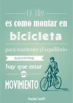 Bicicleta y vida