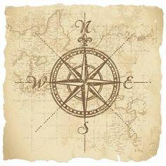 Resultado de imagem para compass rose tattoo