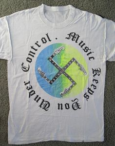 'Music Keeps You Under Control' t-shirt, Malcolm McLaren Vivienne Westwood Seditionaries Personal Collection, c.1978