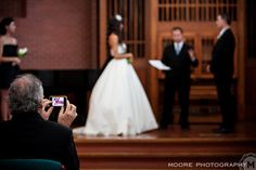 Wedding advice... Live each moment and enjoy it, put the damn phone away. (Unless you are the father of the bride, in that case you can do whatever you want, lol!)    www.moorephotography.ca