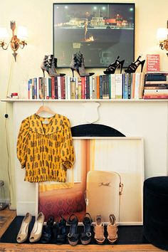 new york 01d1b 90391 Get Lost In This Fashion Editor s Insane Closet  refinery29 Vackra  Bostäder, Dekoration, Design