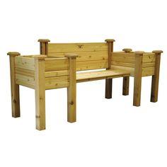 Planter Bench 24 x 82 x 36