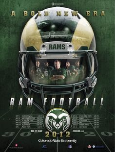 College Football Rankings: The Top 50 by 2012 Team Schedule Posters Coloradostate_display_image High School Football Schedule, College Football Recruiting, College Football Coaches, Football Program, Football Stuff, Football Art, Alabama Football, Nfl Photos, Football Pictures