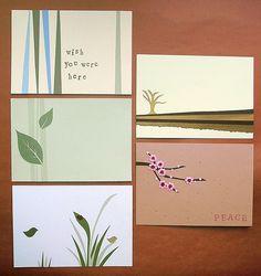 zen postcards