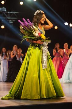 Hailey Colborn, Miss Kansas TEEN USA is crowned the new Miss Teen USA at the conclusion of the special programming event from George's Pond at Hirsch Coliseum Friday, May Miss Teen Usa, Miss Usa, Northwest High School, Miss Kansas, Teen Pageant, Miss Independent, Pageant Dresses, Pageants, Programming