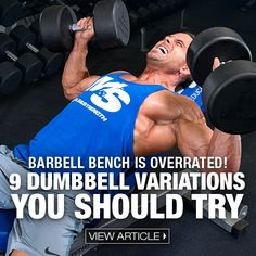 Barbell benching has been a staple in every bro's split since the dawn of protein shakes and stringer tanks. But, it's time to get your head out of the sand and examine all the options available.