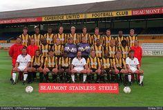 Home, Vandanel. Cambridge United, Back Row, Team Photos, Football Shirts, Butler, The Row, The Unit, Stock Photos, Team Pictures