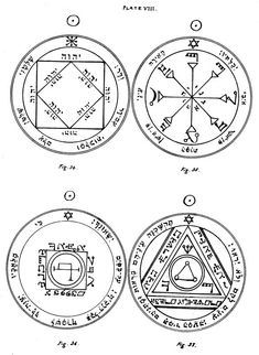 The Key of Solomon: Plates: Plate VIII