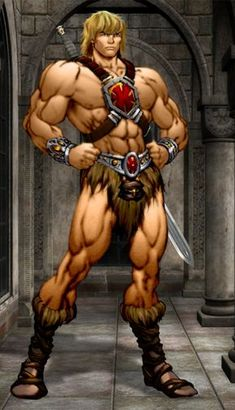 This He-man from the 2002 animated series, I smoothed down the pic and added a cool goth background, also I replaced the sword I didn't really like the . He-Man 90s Cartoons, Cartoon Memes, Thundercats Costume, Thundercats Characters, He Man Desenho, Gi Joe, Fantasy Characters, History, Childhood