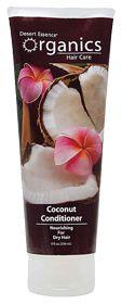 Smells soooo good. Tons of slip on my hair. - Organics Coconut Conditioner by Desert Essence <3