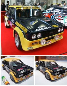 Fiat Sport, Fiat Cars, Fiat Abarth, Ford Escort, Rally Car, Diecast, Dream Cars, Competition, Classic Cars