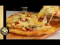 Η σπιτική Ζύμη για Πίτσα, που θα καθιερώσεις! Pizza Dough, Cheesesteak, Vegetable Pizza, Easy Meals, Food And Drink, Sweets, Homemade, Cooking, Ethnic Recipes