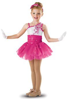 Girls' Flower Sequin Dress; Weissman Costumes