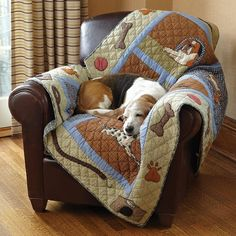 Just found this Quilted Throw Blanket for Dogs - Dog Days Quilted Throw -- Orvis on Orvis.com!