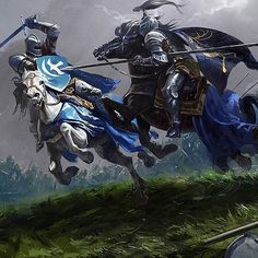Title: Knights Battle Artist: Alexander Deruchenko