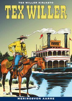 Tuore Tex-kirjasto nyt kirjakaupoissa! #TexWiller #sarjisklassikko #Western
